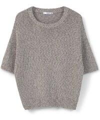 MANGO Kurzärmeliger Pullover