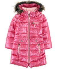 Deux par Deux Long fleece-lined padded coat