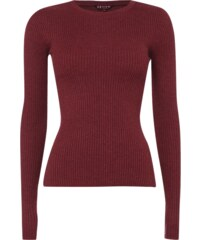REVIEW Pullover aus Rippenstrick