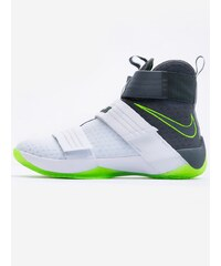 Nike Lebron Soldier 10 SFG White Cool Grey Electric Green