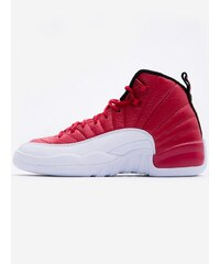 Air Jordan 12 Retro BG Gym Red White White Black
