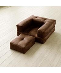 Variabilní křeslo Karup Cube Choco