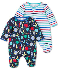 C&A Baby 2er Pack Baby-Schlafanzüge in multicolour print