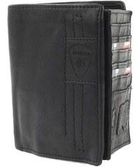 Pánská kožená peněženka Strellson 1929 - černá