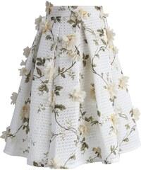 Chicwish dámská sukně midi ROMANTIC velikost oblečení: S