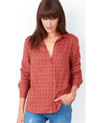 Chemise à carreaux en coton Etam