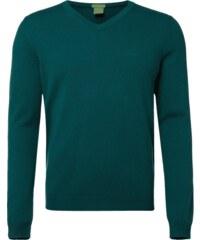 Boss Green Regular Fit Pullover aus reiner Lammwolle