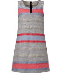MAX&Co. Kleid mit strukturiertem Streifenmuster