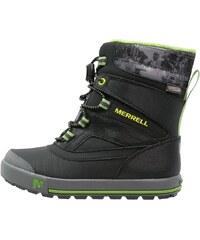 Merrell SNOWBANK 2.0 WTPF Snowboot / Winterstiefel black/grey/green
