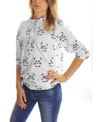 Košile s potiskem pandy M