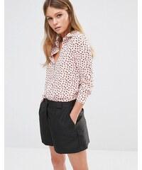 Fashion Union - Chemise style pyjama à imprimé fleuri rétro - Multi
