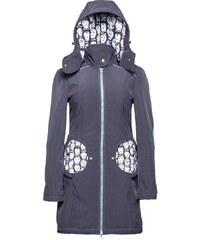 Liliputi kabát na nošení dětí Lebky šedý