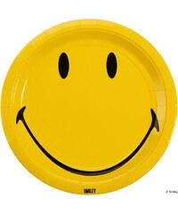 SMILEY Papírové talíře, 10 ks
