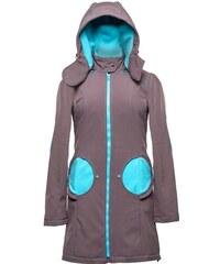 Liliputi kabát na nošení dětí šedý