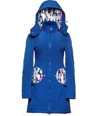 Liliputi kabát na nošení dětí Peříčka modrý