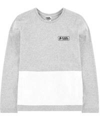 Karl Lagerfeld Kids Karl-T-Shirt aus Materialmix