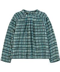 Jean Bourget Bedruckte Bluse aus Viskose