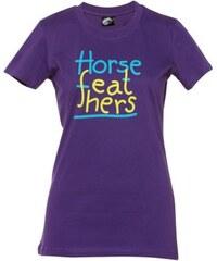 Dětské tričko Horsefeathers Line Rider violet