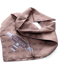 Guess hedvábný šátek 4G
