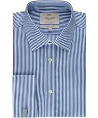 Pánská košile Hawes & Curtis Modré & Bílé pruhy