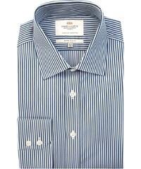 Pánská košile Hawes & Curtis Navy & Bílé pruhy