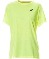 Asics M'S SS TEE - T-shirt running - jaune