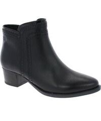 Caprice kotníkové černé, BLACK COMB 9-25330-27-019