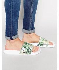 Slydes - Palm - Flip-Flops - Weiß