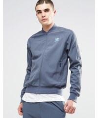 Adidas Originals - Veste de survêtement fonctionnelle AY7979 - Bleu