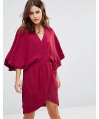 The Jetset Diaries - Robe kimono à mantra - Rouge