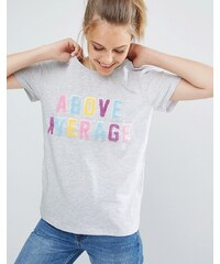 Local Heroes - Above Average - T-Shirt - Blau