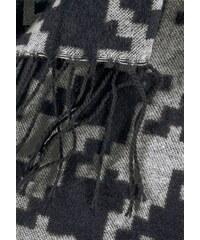 HIGHLIGHT COMPANY Damen Modeschal schwarz-weiß