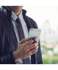 Lesara Ungrip Fingerschlaufe für Smartphones Print - Aluminium Prism