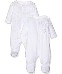 NAME IT Unisex Baby Strampler Nitudo 2p Nightsuit Wf Mznb, 2er Pack