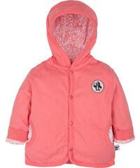 G-mini Dívčí oboustranný kabátek Krtek a telefon - bílo-růžový