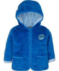 G-mini Chlapecký hřejivý kabátek Autíčka - modrý