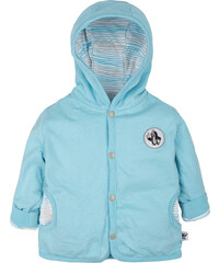 G-mini Chlapecký oboustranný kabátek Krtek a motorka - bílo-modrý