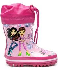 CNB Růžové dětské gumáky stylové
