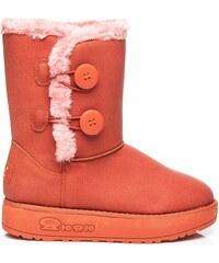 TORNA Nádherné dámské sněhule - oranžové