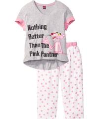 bpc bonprix collection Pyjama corsaire Panthère Rose rose manches courtes lingerie - bonprix