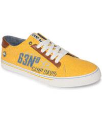 Žluté plátěné tenisky 46 Camp David 415064