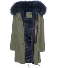 MR & MRS ITALY Laid Long Blue Fur