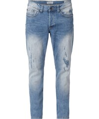 Only & Sons Regular Fit Jeans im Destroyed Look