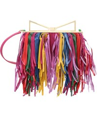 Sara Battaglia LADYME Clutch multicoloured