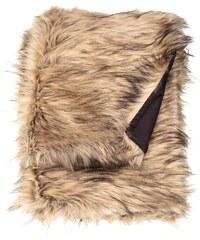 H&M Pléd z umělé kožešiny