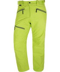 Lyžařské kalhoty pánské HANNAH Baker Lime green