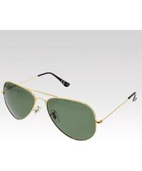 VeyRey Sluneční brýle polarizační Pilotky 5206 zlaté