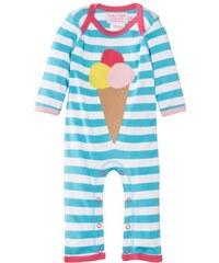 Toby Tiger Baby - Mädchen Body Organic Ice Cream Sleepsuit