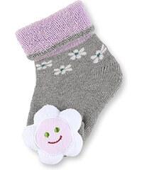 Sterntaler Baby-Mädchen Socken mit Rassel Blume