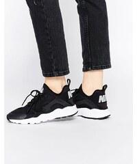 Nike - Air Huarache Ultra - Baskets - Noir et blanc - Noir